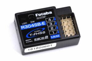 Futaba R304SB-E  4 Channel RECEIVER WITH TELEMETRY T-FHSS 2.4GHz