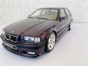 Otto Models 1:18 - BMW M3 E36 Sedan - Daytona violet - OttoMobile OT307