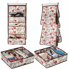 Handbag And Drawer Organization Set of 4 Floral Design Storage Closet Home