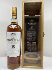 whisky Macallan 1990 Sherry Oak In Special Wooden Oak Box 700ml 43%vol Very Rare