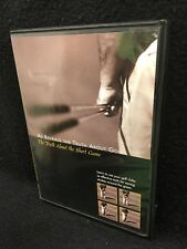 AJ REVEALS THE TRUTH ABOUT GOLF: THE TRUTH ABOUT THE SHORT GAME DVD, EUC