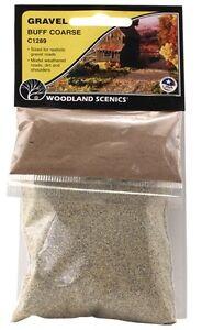 Woodland Scenics Gravel Buff Course # C1289