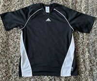 Adidas Women's Avantis Soccer Jersey Climalite Black White 573174 Size Small