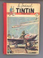 Le journal de Tintin reliure n°6 du n°86 à 102. 1950