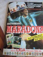 ALBUM FOOTBALL SOCCER   SPAIN LEAGUE 1984 MARADONA COMPLETE