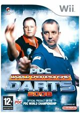 Wii PDC World Championship Darts 2008 - Excellent Condition with book