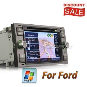 DAB+ Ford Autoradio DVD Fiesta Focus S C Max Kuga Fusion Navigatore DTV USB 7166