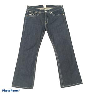 TRUE RELIGION Men's Blue Bootcut Jeans W38 L32