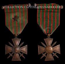 Croix de Guerre avec 1 étoile 1914-1917