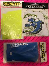 husqvarna Tc 610 1995 1996 1997 Nos Tecnosel Graphics Seat Cover Backgrounds Evo