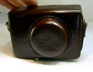 Panasonic Lumix camera Protective Leather Pouch Case small