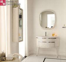 Badmöbel Einzelwaschtisch Luxus Waschtisch Marmor Designer Badezimmer Luxus Bad