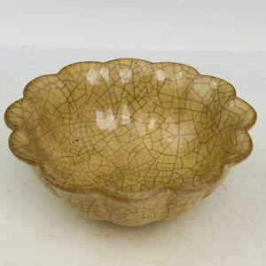 "5.7"" china old Antique Porcelain song dynasty ge kiln museum mark Brush Washer"