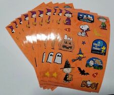 Sandylion Charlie Browns Halloween Stickers lot of 10 SHEETS 4 X 6