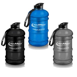 Ironmaxx Water Gallon (Water Bottle) 2200ml NEU MATT Farbe