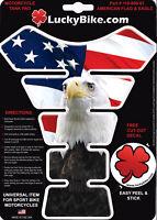 Flag Segmented Gas Tank Pad Universal Sticker Protector Scrape American Eagle