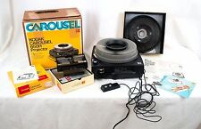 Kodak Carousel Slide Projector 650H Remote Extra Carousel & Stack Loader Manual