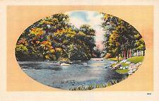 USA N.C. Asheville Spring Landscape river creek