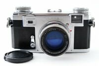 Exc++ Zeiss Ikon Contax IIa 35mm Rangefinder Camera w/ Sonnar T 5cm f/2 Lens