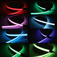 Flexible Electroluminescent Tape EL Wire Glow Light With 12V Battery Inverter