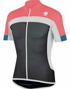 Sportful/Castelli Pista Men's Cycling Jersey Size Large : Black/Pink