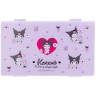 JAPAN SANRIO Kuromi Chromi Purple Mask Case Hard Pocket Cards Money Storage New