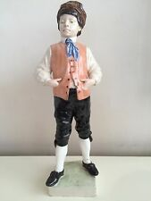 GOLDSCHEIDER Wien Austria Keramik Figur - Cocky Boy *VERY RARE* !!!