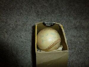 Vintage California League Baseball Fresno Giants Signed Gil St Onge June 22 1962