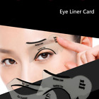 10Pcs Eyeliner Stencil Cards Eyes Line Drawing Cards Popular Makeup Beauty Tool