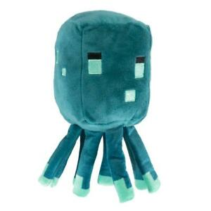 """Official JINX Minecraft Earth Happy Explorer Glow Squid 7"""" Tall NEW"""