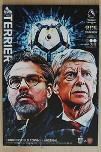 2017/18 HUDDERSFIELD TOWN V ARSENAL (13/05/2018) *WENGERS LAST AWAY GAME*