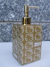 soap dispenser gold oro hello kitty distributeur dispensador accessori bagno hk