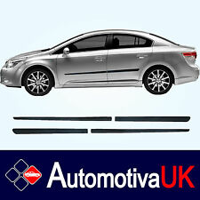 Toyota Avensis Mk3 Rubbing Strips | Door Protectors | Side Mouldings Body Kit