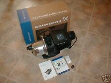 GRUNDFOS STAINLESS STEEL 3-45 1 HP BOOSTER PUMP 230V