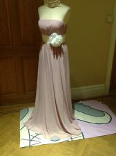 Goya London Bridesmaids / Prom/Maxi /Evening Dress Size 10 New.
