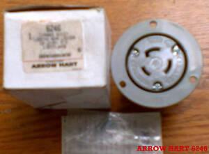 ARROW HART 6246 20 Amp 125/250 V L10-20R FLANGED OUTLET