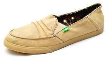 Sanuk Standard IN A PINCH Tan Sidewalk Surfers Shoes Women's 10 - NEW - SWF1124