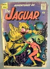 "Adventures of The Jaguar #2 (Archie,1961) ""The Gulliver of the Jungle"" POOR"