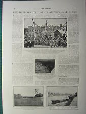 1900 VICTORIAN PRINT ~ FOREIGN AFFAIRS TOMB OF ROMULUS CIVILISATION CHINA