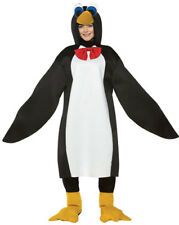 Penguin with Red Bow Tie Adult Halloween Costume