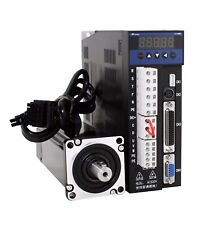 0.6KW 1.91N.M 220V AC Servo Motor Nema24 LCMT-06L02-60M01930 +B2 servo drive set