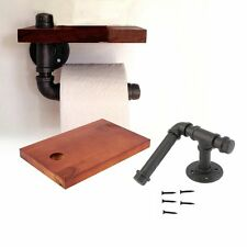 markenlose toilettenpapierhalter aus holz ebay. Black Bedroom Furniture Sets. Home Design Ideas