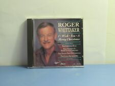 Roger Whittaker - I Wish You A Merry Christmas (CD, 1992, CEMA)