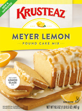KRUSTEAZ Meyer Lemon Pound Cake Mix 16.5 oz ( 2 Boxes )