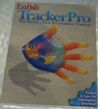 Enfish TrackerPro Software Package - Windows 95, 98, NT - BRAND NEW IN BOX
