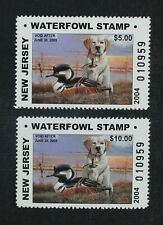 CKStamps: US State Duck Stamps Collection New Jersey (2) Mint NH