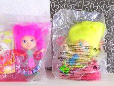 McDonald's Trollz Trina Marissa Happy Meal Doll Toys MIP 4 and 2 2006 Premiums