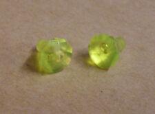 2 Lego Kristalle Rock 1 x 1 Steine Diamanten Rock Raiders Zubehör neon grün Neu