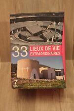 DVD - Coffret 7 DVD - 33 lieux de vie extraordinaires - documentaire