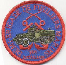 DEMI BRIGADE DE FUSILIERS MARINS 1° BATAILLON 1956 - 1962 / EN ALGERIE 8 cm